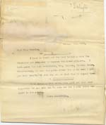 Image of Case 6424 5. Copy letter acknowledging above letter from Belbroughton  30 January 1902  page 1