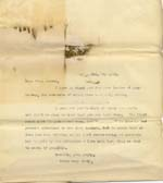 Image of Case 6424 6. Copy letter to Miss M. Senior asking if she can take A.  7 February 1902  page 1