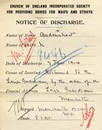 Image of Case 8446 2. Notice of Discharge  8 January 1904  page 2