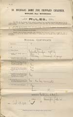 Image of Case 8587 3. Medical certificate  18 October 1901  page 1