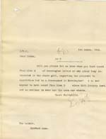 Image of Case 8587 22. Copy letter from Revd Edward Rudolf enquiring about progress in E's case  1 March 1910  page 1