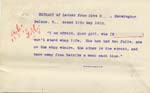 Image of Case 8587 34. Extract of a letter from Miss B. mentioning that E. has had two falls  12 May 1910  page 1
