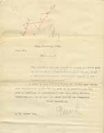 Image of Case 8625 4. Copy letter from Revd Edward Rudolf accepting E. for the Penkridge Home  10 December 1901  page 1
