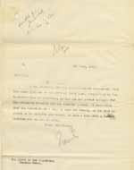 Image of Case 8625 11. Copy letter to the Cannock Union informing them that E. had lost her position  4 June 1908  page 1