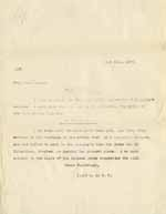 Image of Case 8625 15. Copy letter from Revd Edward Rudolf re above letter  1 June 1909  page 1