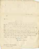 Image of Case 8625 20. Copy letter from Revd Edward Rudolf to the Cannock Union  8 June 1909  page 1