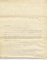 Image of Case 8625 22. Copy letter from Revd Edward Rudolf replying to E's employer  12 June 1909  page 1