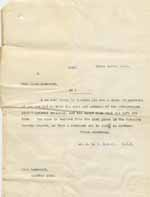 Image of Case 8625 27. Copy letter from Revd Edward Rudolf  26 April 1911  page 1