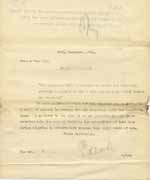 Image of Case 8645 5. Copy letter from Revd Edward Rudolf accepting H.  10 December 1901  page 1