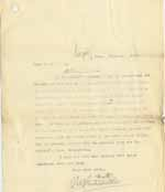 Image of Case 8645 9. Copy letter written on behalf of Revd Edward Rudolf to Mr Jackson discussing procedure in H's case  26 February 1902  page 1