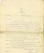 Image of Case 8645 16. Copy letter from Revd Edward Rudolf to Mrs W. giving his conclusions on H's complaints  3 March 1902  page 1