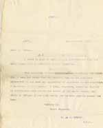 Image of Case 8645 22. Copy letter from Revd Edward Rudolf to Mr Powell telling him that they have no choice but to let H. leave the Home  4 December 1907  page 1