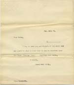 Image of Case 8723 5. Copy letter to Miss Ratcliffe, Honorary Secretary of the Helston Home  28 November 1901  page 1