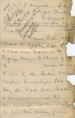 Image of Case 8790 2. Letter from Sister Laura of the Norwich Refuge  Feb/Mar 1902  page 1