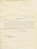 Image of Case 9059 5. Copy letter from the Society seeking to confirm dates  13 December 1912  page 1