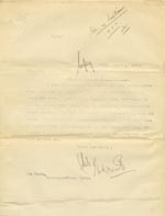 Image of Case 9146 2. Copy letter about T's admission to the Cambridge Home  18 August 1902  page 1