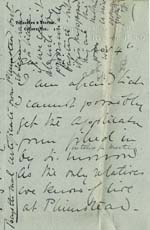 Image of Case 9308 3. Letter from Mrs O'B. saying she needs more time to complete the form  4 November 1902  page 1