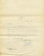 Image of Case 9316 18. Copy letter to the Worksop Union  17 April 1905  page 1