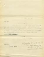 Image of Case 9316 23. Copy letter to the Worksop Union  25 April 1905  page 1