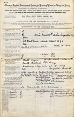 Image of Case 9350 1. Application to Waifs and Strays' Society  9 December 1902  page 1