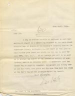 Image of Case 9498 21. Copy letter to the Devizes Union asking if they can meet the cost of the new leg  11 April 1910  page 1