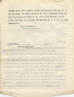 Image of Case 9498 28. Copy letter from the Revd Edward Rudolf explaining to the Devizes Union the difficulties that A. has faced finding a situation because of his disability and asking if they could continue maintenance payments  28 October 1910  page 2