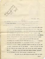 Image of Case 9498 59. Copy letter to Miss Peter concerning arrangements for paying for the leg  26 May 1911  page 1