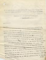 Image of Case 9498 68. Copy letter to Mr Medlicott acknowledging his contribution and apologising for an administrative error which meant the Society had omitted to inform him that A. had been discharged to a situation in Devon  29 November 1911  page 1