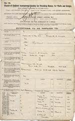 Image of Case 9621 1. Application to Waifs and Strays' Society  30 March 1903  page 1