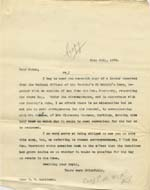 Image of Case 9627 19. Copy letter to Mary Mortimer asking her to make arrangements for J's removal  21 July 1903  page 1