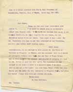 Image of Case 9627 21. Letter from Mary Mortimer requesting that J. be admitted to the Kingston Union  6 August 1903  page 1