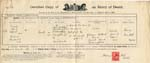 Image of Case 9649 6. Copy of W's death certificate  April 1914  page 1