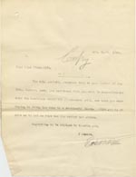 Image of Case 9662 13. Copy letter from Revd Edward Rudolf enquiring about the progress of L's case  4 April 1910  page 1