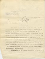Image of Case 9662 15. Copy letter from Revd Edward Rudolf setting out a particular course of action regarding the Poor Law authorities  9 April 1910  page 1