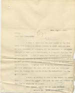 Image of Case 9662 20. Copy letter of thanks from Revd Edward Rudolf  30 August 1910  page 1