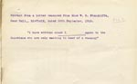 Image of Case 9662 21. Extract from a letter from Miss Stancliffe concerning L.  30 September 1910  page 1