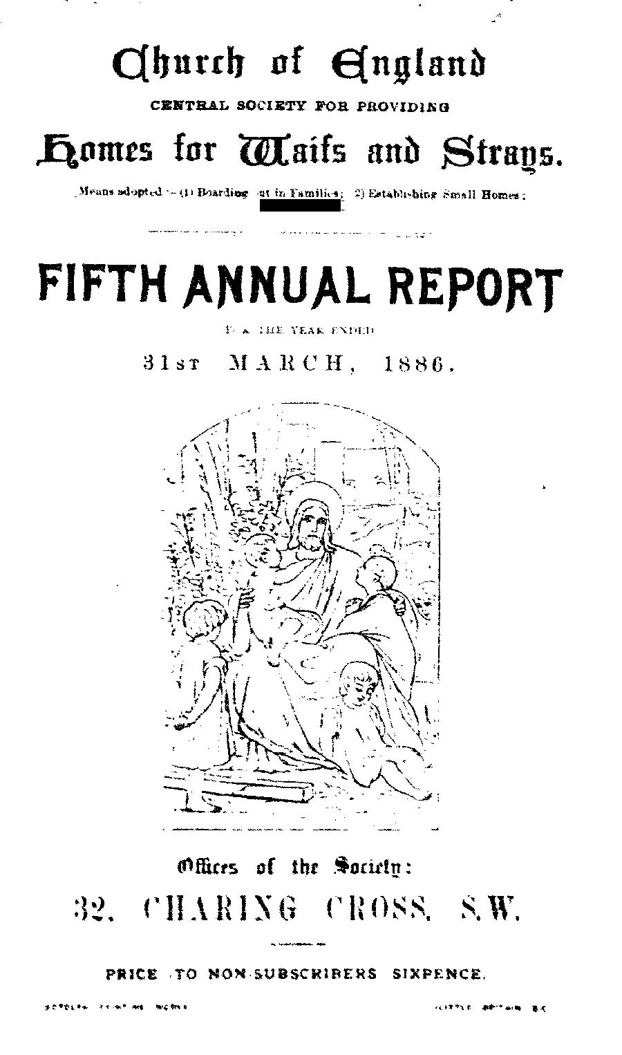 Annual Report 1886 - page 1