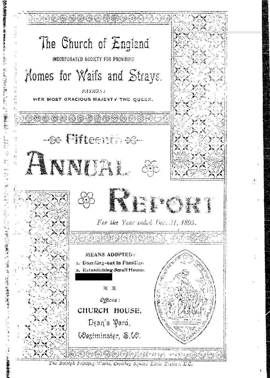 Annual Report 1895 - page 1