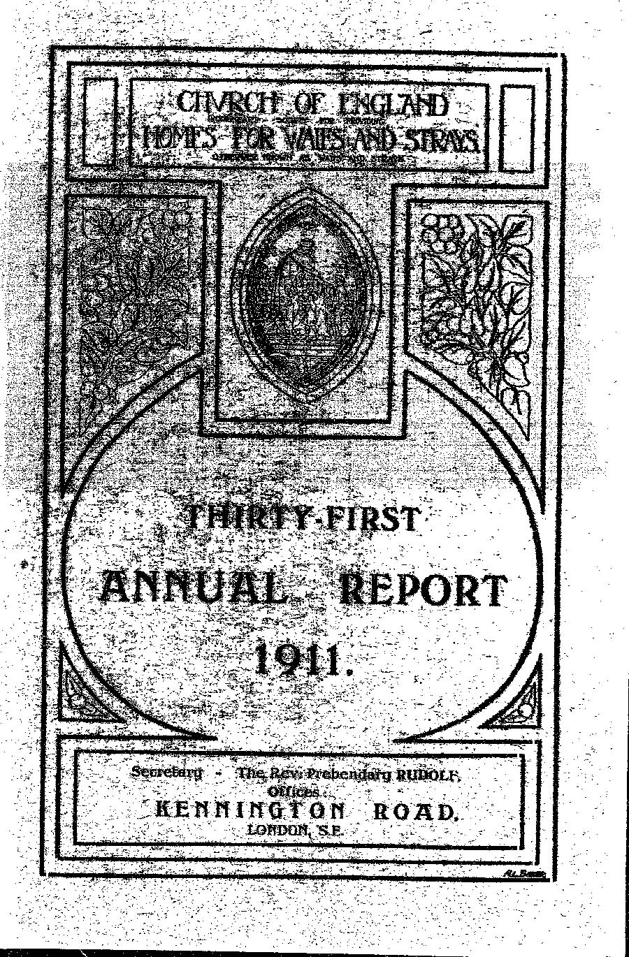 Annual Report 1911 - page 1