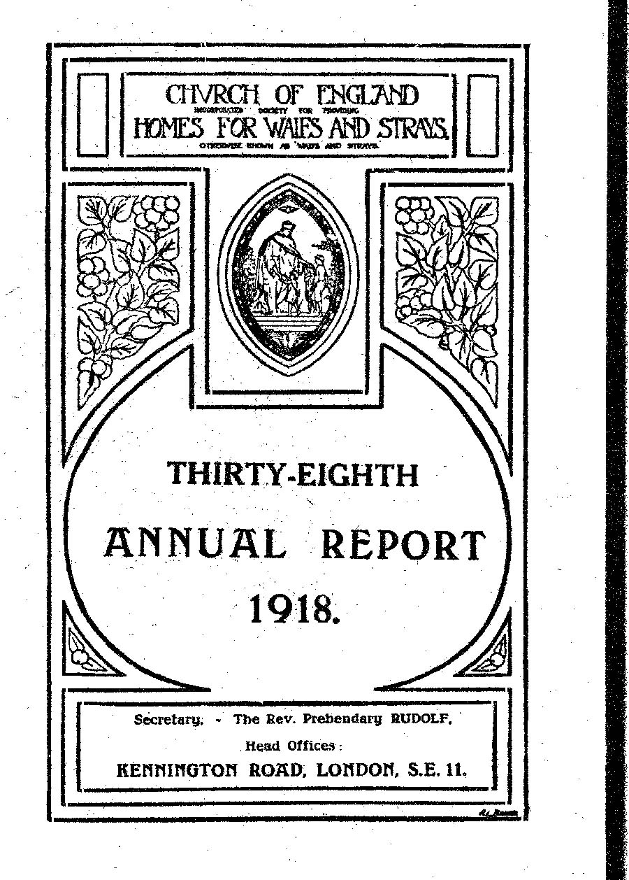 Annual Report 1918 - page 1