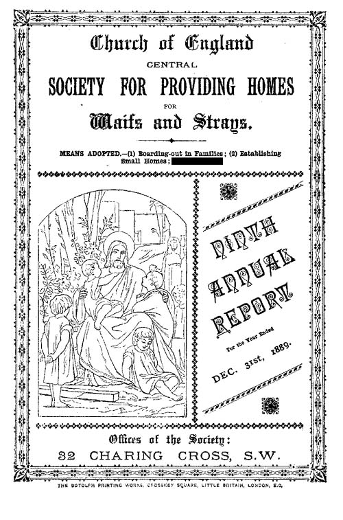 Annual Report 1889 - page 1