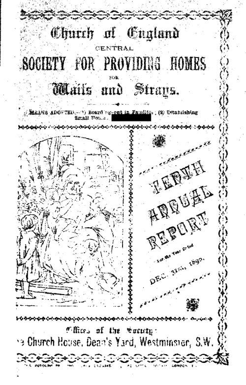 Annual Report 1890 - page 1