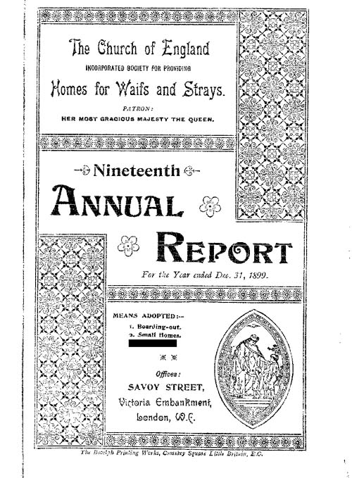 Annual Report 1899 - page 1