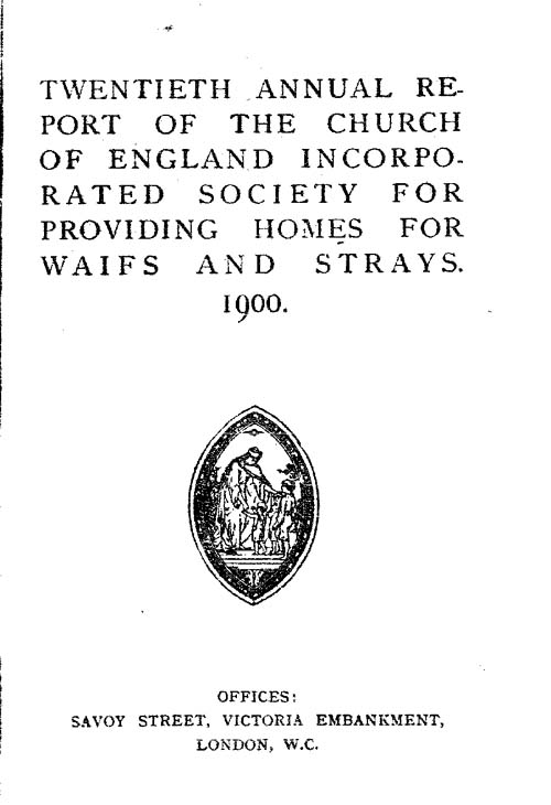 Annual Report 1900 - page 1