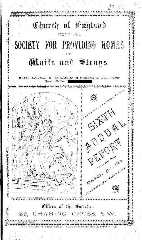 Annual Report March 1887 - page 1
