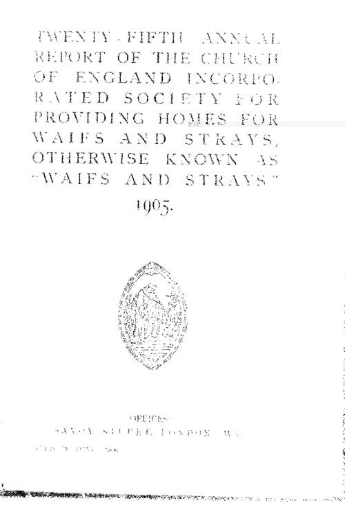 Annual Report 1905 - page 1