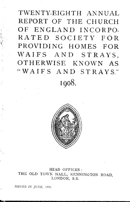 Annual Report 1908 - page 1