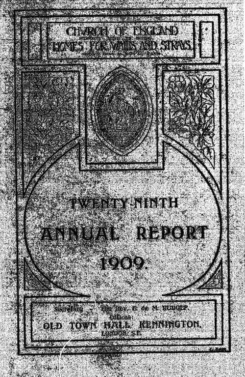 Annual Report 1909 - page 1