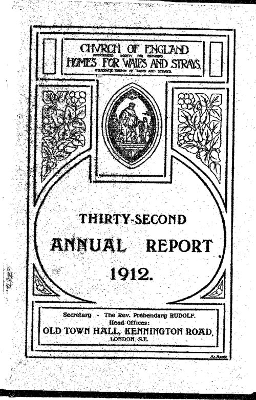 Annual Report 1912 - page 1