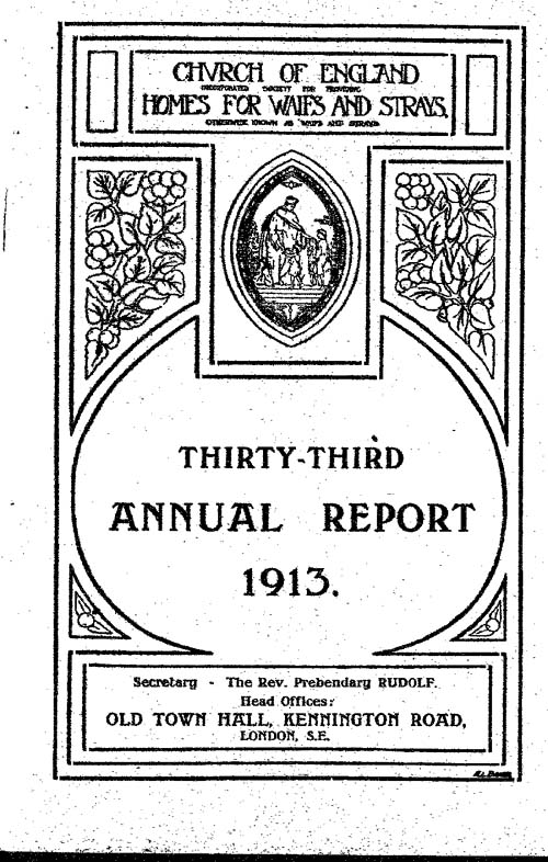 Annual Report 1913 - page 1